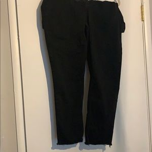 Seven7 high waist denim black 22w skinny